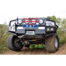 Алюминиевый передний силовой бампер KDT для Nissan Patrol Y61