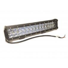 Двухрядная LED балка CH019B сверх-дальнего света, мощность 18-288W, длина 9-132см, светодиоды 3W, линзы 4D