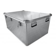 Ящик алюминиевый РИФ усиленный с замком 1176х790х517 мм (ДхШхВ)