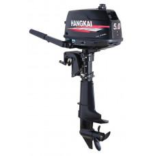 Подвесной лодочный мотор HANGKAI мощность 5 л.с. двухтактный