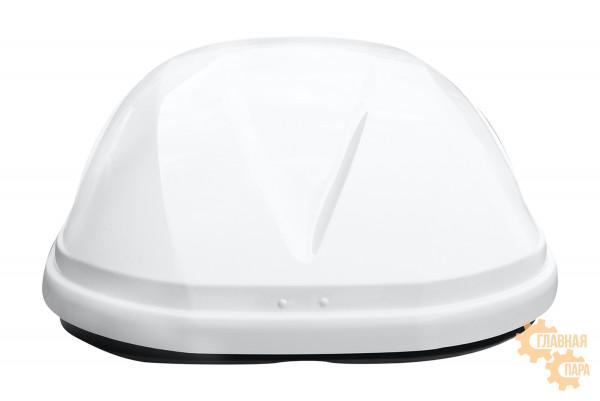 Бокс на крышу РИФ Туризм 360 л белый глянец, правосторонний