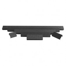 Защитная крышка фары Aurora 40 дюймов пластик ABS черная