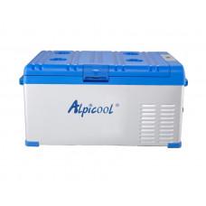 Kомпрессорный автохолодильник ALPICOOL А-25 л, 12/24/220В (крышка на защелке)