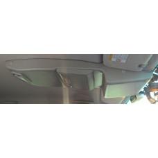 Консоль потолочная для установки р/c Toyota Hilux , без выреза под р/c, серая